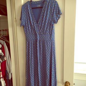 LLBean Jersey Midi Dress